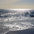 Sparkling Sunlight on Ocean - Stock Photo
