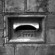 Old Letterbox with Spider Webs — Stock Photo