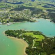 Royalty-Free Stock Photo: Aerial View of Mangonui, New Zealand