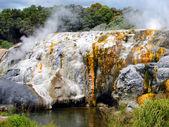 Pohutu Geyser, New Zealand — Stock Photo