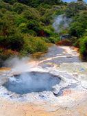 Geothermal Pool, Waimangu, New Zealand — Stock Photo