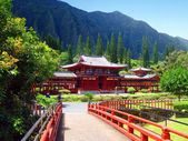 Byodo-in Buddhist Temple, Hawaii — Stock Photo