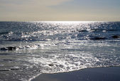 Sparkling Sunlight on Ocean — Stock Photo