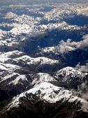 Aerial view of Mountain Range — Stock Photo
