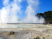 Waiotapu Thermal Reserve, New Zealand — Stock Photo
