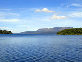 Lake Tikitapu (Blue Lake), New Zealand — Stock Photo