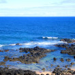 Rocky Coastline, Maui, Hawaii — Stock Photo