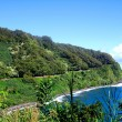 Stock Photo: Coastline along the Road to Hana, Maui