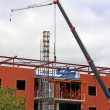 Construction site of Office Building — Stock Photo