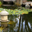 S'ensui - Japanese Water Garden - Stock Photo