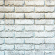 Aged White Painted Brick Wall — Stock Photo #2367098