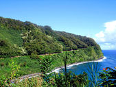Coastline along the Road to Hana, Maui — Stock Photo
