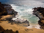 Hawaiian Coastline, Oahu — Stock Photo
