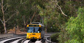 Bus on the O-bahn Track, Australia — Stock Photo