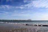 Grange Jetty at Grange Beach, Australia — Stock Photo