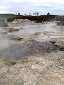 Boiling Sulphur Pools — Stock Photo