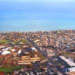 Aerial view of Honolulu, Hawaii — Stock Photo #2461270