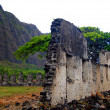 Stock Photo: Ruined Building, Oahu, Hawaii