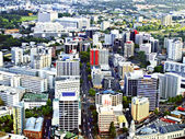 Aerial View of Auckland, New Zealand — Stockfoto