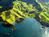 Northland Coastline Aerial, New Zealand — Stock Photo