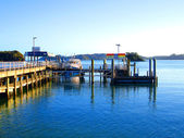 Paihia Wharf, Bay of Islands, NZ — Stock Photo