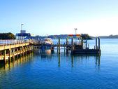 Paihia Wharf, Bay of Islands, NZ — Stock Photo