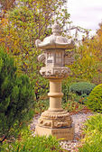 Okunoin Lantern, Japanese Garden — Stock Photo