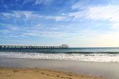 Grange beach and jetty, Australia — Stock Photo