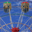 Stock Photo: Ferris Wheel Fairground Ride
