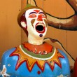 Laughing Clown Fairground Game — Stock Photo