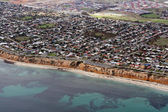 Aerial view of Aldinga Beach, Australia — Stock Photo