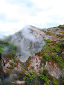 Fumaroles at Karapiti, New Zealand — Stock Photo