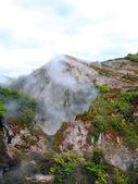 Fumaroles at Karapiti, New Zealand — Stock Photo