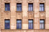 Windows on External Wall on Historical Building, Australia — Stock Photo