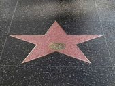 Hollywood star — Stock Photo