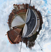 Toulouse little planet — Stock Photo