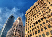 Modern skyscapers — Stock Photo