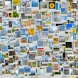 Stock Photo: Pile of photos background