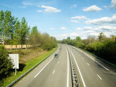 French motorway — Stock Photo