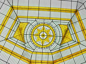 Cam atrium — Stok fotoğraf