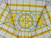 玻璃中庭 — 图库照片