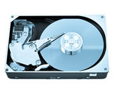 Open hard drive disk — Stock Photo