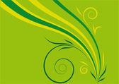 Yeşil barış — Stok Vektör