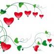 Ornament Heart — Stock Vector