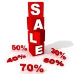 Box sale — Stock Photo #2379700
