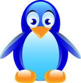 Penguin — Vector de stock