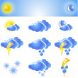 Stock Vector: Weather