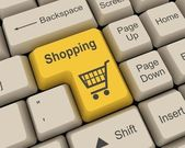 Shopping Key — Foto de Stock