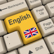 Stock Photo: English Key