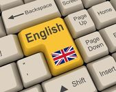 English Key — Foto de Stock